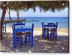 Naxos - Cyclades - Greece Acrylic Print by Joana Kruse