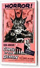 Night Of The Demon, Aka Curse Of The Acrylic Print by Everett