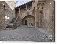 Palazzo Comunale Acrylic Print by Rob Tilley