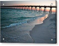 Pensacola Beach Pier Acrylic Print