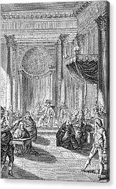 Pierre De Beaumarchais Acrylic Print by Granger