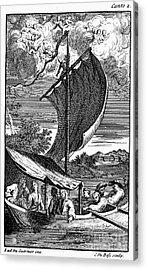 Pope: Rape Of The Lock Acrylic Print by Granger
