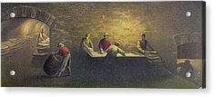 Pork Packing House In Cincinnati, Ohio Acrylic Print by Everett