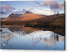 Rannoch Moor At Sunrise Acrylic Print