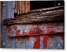 Red Shed Series Acrylic Print