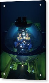 Research Submarine Acrylic Print by Alexis Rosenfeld