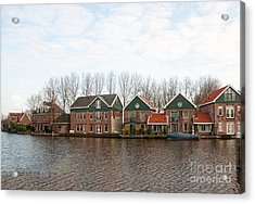 Acrylic Print featuring the digital art Scenes From Amsterdam by Carol Ailles