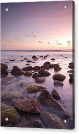 Seascape Acrylic Print by Teerapat Pattanasoponpong