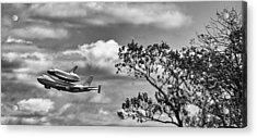 Shuttle Enterprise Acrylic Print by Roni Chastain