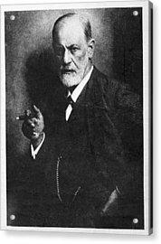 Sigmund Freud, Austrian Psychologist Acrylic Print