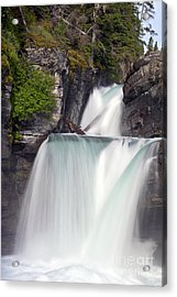 St Marys Falls Acrylic Print by Scotts Scapes