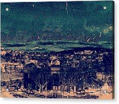 Storm. Acrylic Print by Peter Szabo