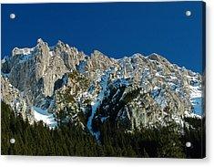 Tatra Mountains Winter Scenery Acrylic Print by Waldek Dabrowski