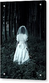 The Bride Acrylic Print by Joana Kruse