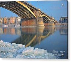 The Bridge Acrylic Print by Odon Czintos