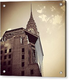 The Chrysler - New York Acrylic Print