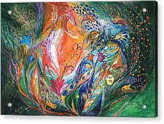 The Glade Acrylic Print by Elena Kotliarker