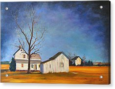 The Last Farm Acrylic Print by Robert Henne