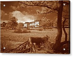 The Stanley Hotel Acrylic Print by G Wigler