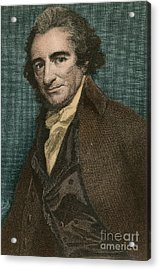 Thomas Paine, American Patriot Acrylic Print