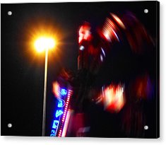 Thriller Acrylic Print by Charles Stuart