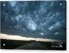 Thunderstorm And Supercell Acrylic Print by Science Source