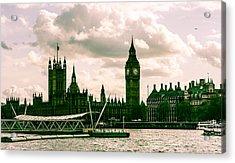 Westminster Acrylic Print by Dawn OConnor