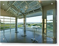 Winderlea Wine Tasting Room Acrylic Print by Rob Tilley