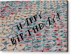 World Of Umbrellas Acrylic Print by Trish Tritz