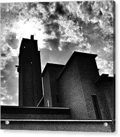30's Castle. #townhouse #hilversum Acrylic Print