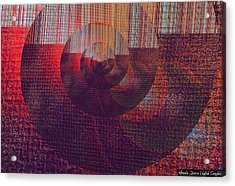 Figurative Shells Acrylic Print by Mihaela Stancu