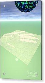 Planet Acrylic Print by Odon Czintos