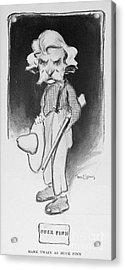 Samuel Langhorne Clemens Acrylic Print by Granger