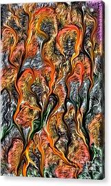 Acrylic Print featuring the digital art 32122 by Leo Symon
