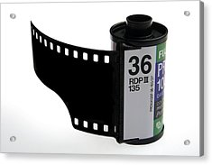 35mm Photographic Colour Slide Film Acrylic Print by Victor De Schwanberg