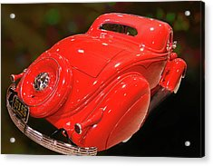 Acrylic Print featuring the photograph 36 Custom Coupe by Bill Dutting