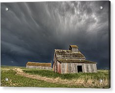 Abandoned Farm Acrylic Print by Mark Duffy