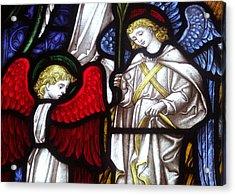 Angels Acrylic Print by Munir Alawi