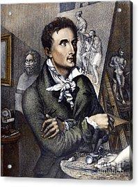 Antonio Canova (1757-1822) Acrylic Print by Granger