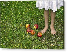 Apples Acrylic Print by Joana Kruse