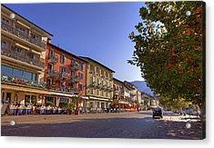 Ascona Acrylic Print by Joana Kruse
