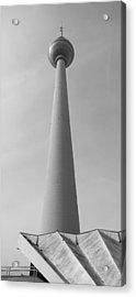 Berlin Tv Tower Acrylic Print by Falko Follert