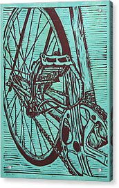 Bike 3 Acrylic Print by William Cauthern