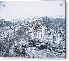 Bozouls Winter Acrylic Print