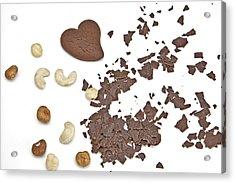 Chocolate Heart Acrylic Print