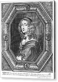 Christina (1626-1689) Acrylic Print by Granger