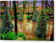 Dupont Gardens Acrylic Print by Aron Chervin