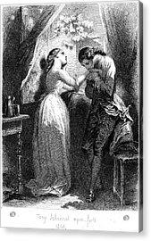 Goethe: Werther Acrylic Print by Granger
