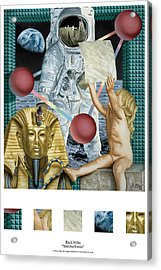 Instructions Acrylic Print by Rich Milo