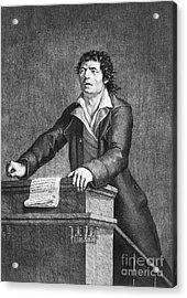 Jean-paul Marat (1743-1793) Acrylic Print by Granger